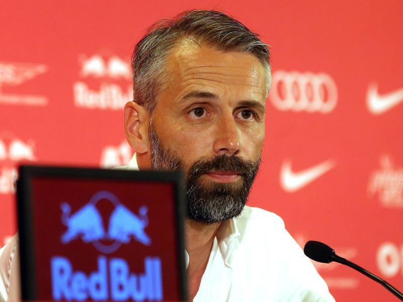 Salzburg-Trainer Marco Rose hat kein Interesse zum 1. FC Köln zu wechseln