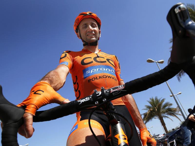 Fährt auch mit 46 noch professionell Radrennen: Davide Rebellin