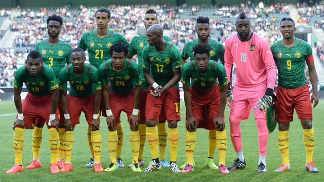 Kamerun Spieler