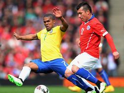 Douglas Costa steht im Olympia-Aufgebot der Brasilianer