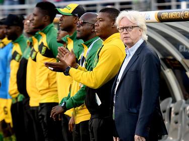 In die Kritik geraten: Jamaiks-Cheftrainer Winfried Schäfer
