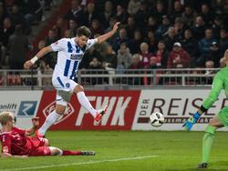 Moritz Stoppelkamp traf zum 0:1