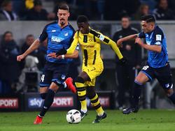 Ousmane Dembélé sieht in seiner Entwicklung noch Luft nach oben