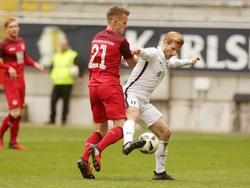 Kaiserslautern leiht Florian Pick (l.)  nach Magdeburg aus