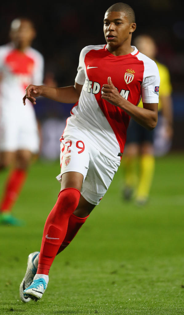 Kylian Mbappé (AS Monaco)