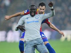 Oumar Niasse fiel gegen Crystal Palace sehr theatralisch