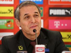 Marcel Koller gab seine Verlängerung mit dem ÖFB bekannt