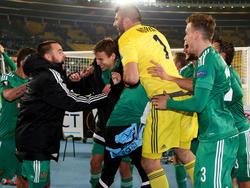 Der Aufstieg in der Europa League ist für Rapid in Reichweite