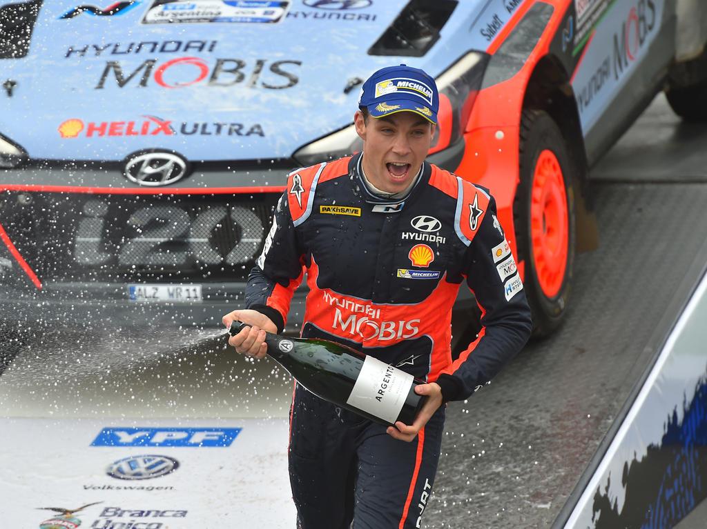 Hayden Paddons Sieg in Argentinien gibt Hyundai Rückenwind