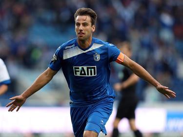 Christian Beck schoss den SCM zum Sieg gegen Paderborn