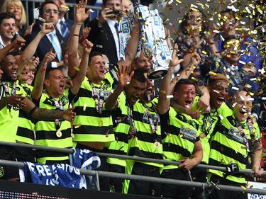 Huddersfield Town feiert den Aufstieg
