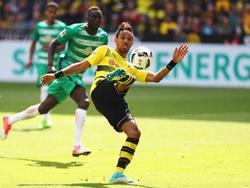 Pierre-Emerick Aubameyang erzielte das 4:3 für den BVB