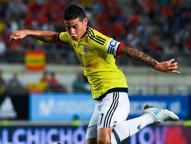 James con la camiseta de Colombia (Foto: Getty)