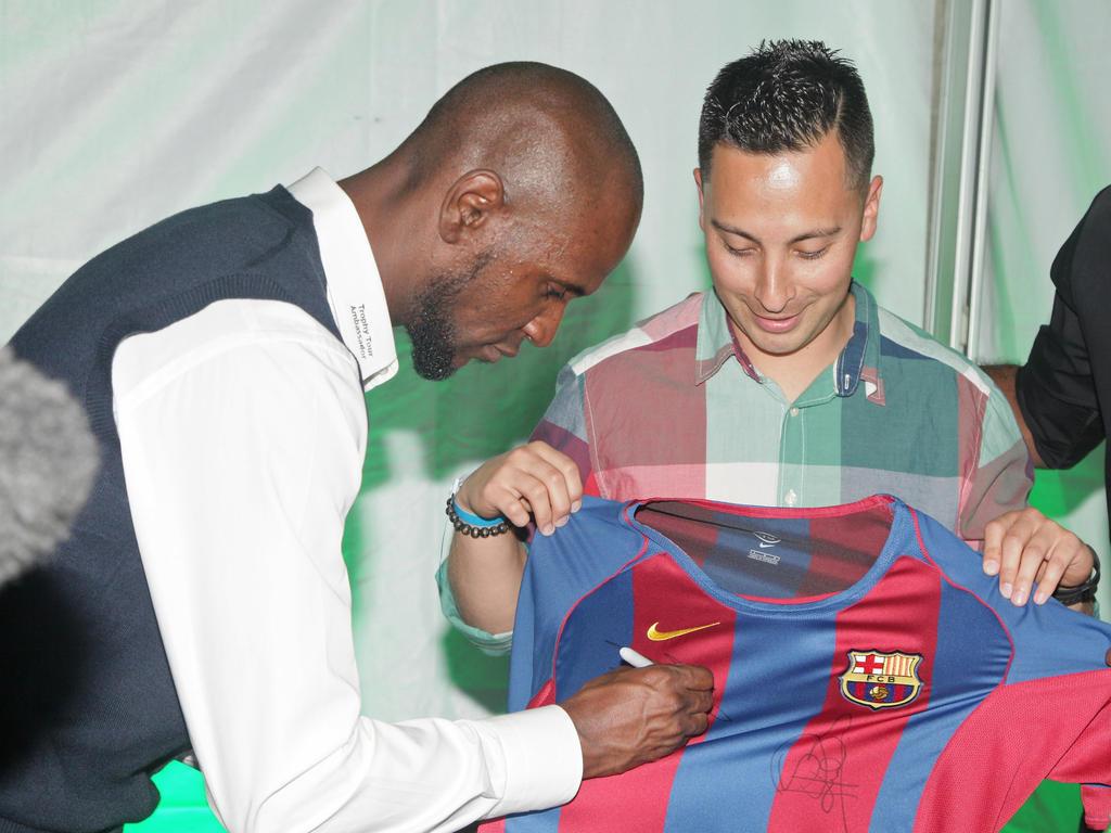 Éric Abidal wird Botschafter des FC Barcelona