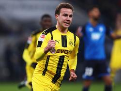 Die BVB-Fans dürfen sich über eine Rückkehr von Mario Götze freuen