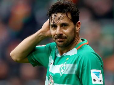 Steht bei Werder wohl vor dem Abgang: Claudio Pizarro