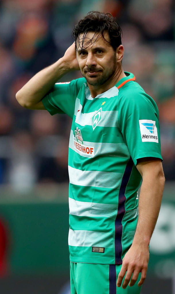 ANGRIFF: Claudio Pizarro