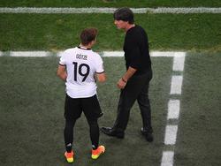 Joachim Löw lässt offen, ob er gegen Frankreich auf Mario Götze setzt