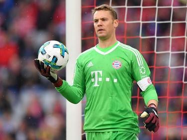 Manuel Neuer arbeitet derzeit an seinem Comeback