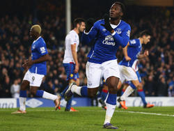 Evertons Romelu Lukaku hat derzeit viel Grund zu jubeln