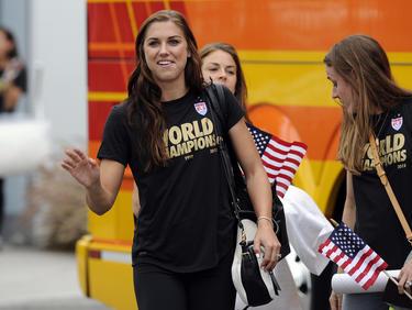 Alex Morgan und ihre Teamkameradinnen drohen mit Olympia-Boykott