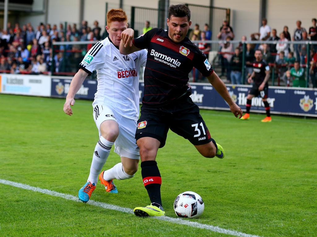 Kevin Volland möchte diese Saison in Leverkusen durchstarten