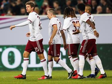 In einem flotten Spiel jubelte am Ende der FC Bayern