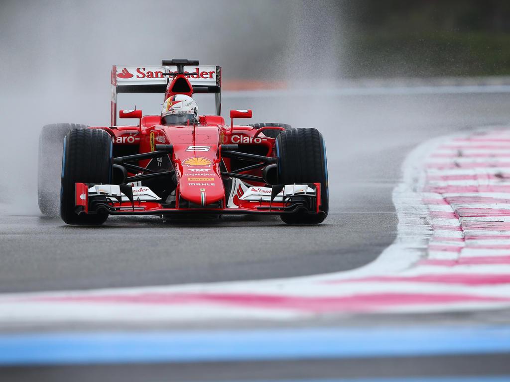 Die Formel-1-Piloten könnten im Regen schlechter sehen