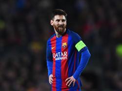 Messi en la vuelta ante el PSG en Champions. (Foto: Getty)