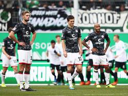 Der FC St. Pauli verzweifelt bei der SpVgg Greuther Fürth