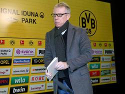 Peter Stöger will den Erfolg zurück nach Dortmund bringen