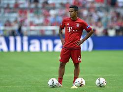Thiago Alcántara ist aus seinem EM-Urlaub zurück und nimmt bei den Bayern das Training auf