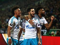 Comeback geglückt: Schalke setzt sich dank der Auswärtstorregel durch