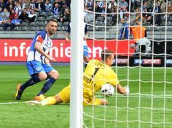 Hertha verliert, spielt aber dennoch international