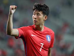 Nicht zu stoppen: Heung-min Son