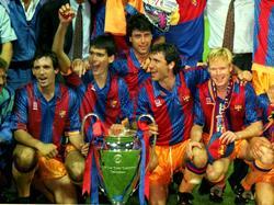 Die Trikots von 1992 dienten dem neuen Barcelona-Dress als Vorbild