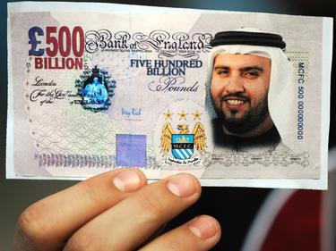 Manchester City ließ das Geld fließen