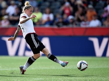 """Anja Mittag ist die """"Oma"""" in der deutschen Nationalmannschaft"""