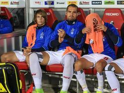 Können sich einen neuen Verein suchen: Halilović (l.) und Lasogga (m.)