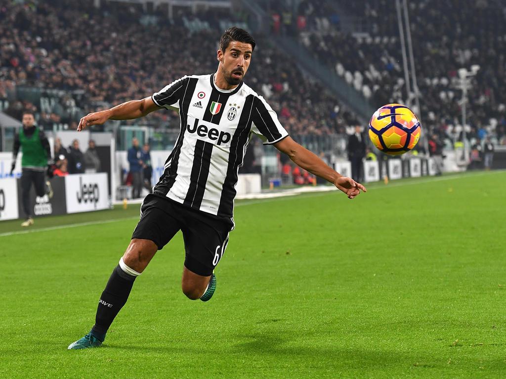 Sami Khedira muss mit Juventus gegen den FC Barcelona antreten