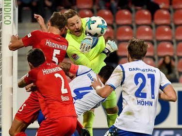 Keinen Sieger gab es im Duell zwischen Heidenheim und Darmstadt