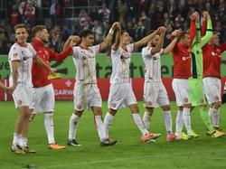 Fortuna Düsseldorf schlägt den MSV Duisburg deutlich