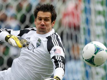 Der ehemalige österreichische Nationaltorhüter Michael Gspurning erreichte mit den Seattle Sounders das Viertelfinale des MLS-Playoffs