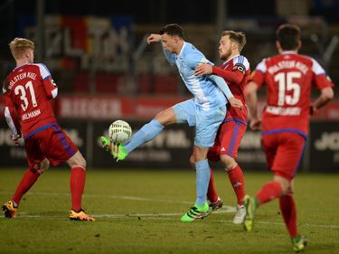 Petar Slišković wird den Kickers vorerst fehlen