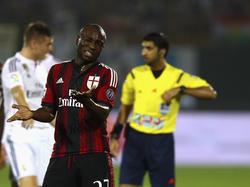 Armero con la camiseta del Milan en 2014. (Foto: Getty)