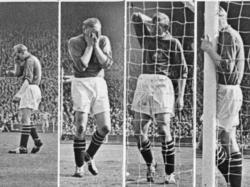 Trautmann im FA-Cup-Finale von 1956: Bei einer Rettungsaktion bricht sich der Keeper das Genick