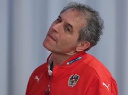 Teamchef Marcel Koller nahm drei Umstellungen vor