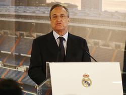 Florentino Perez lobt die Personalsituation bei Real in höchsten Tönen