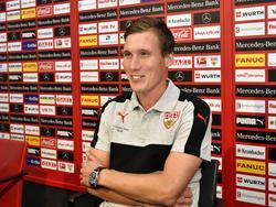 Hannes Wolf ist neuer Trainer beim VfB Stuttgart