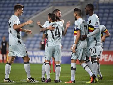 Die belgische Nationalmannschaft feierte einen souveränen Sieg in Gibraltar